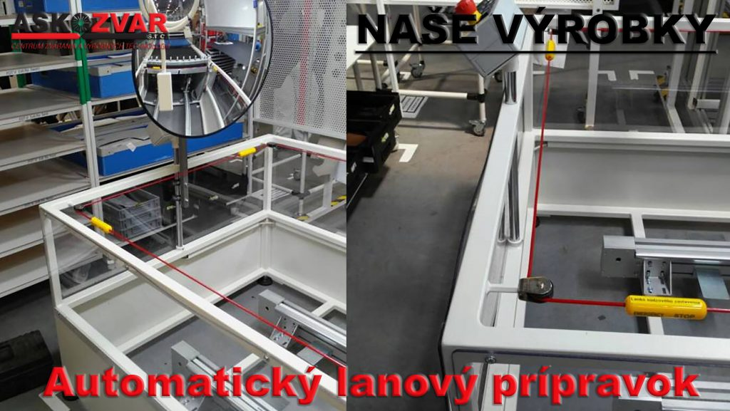Automatický lanový prípravok