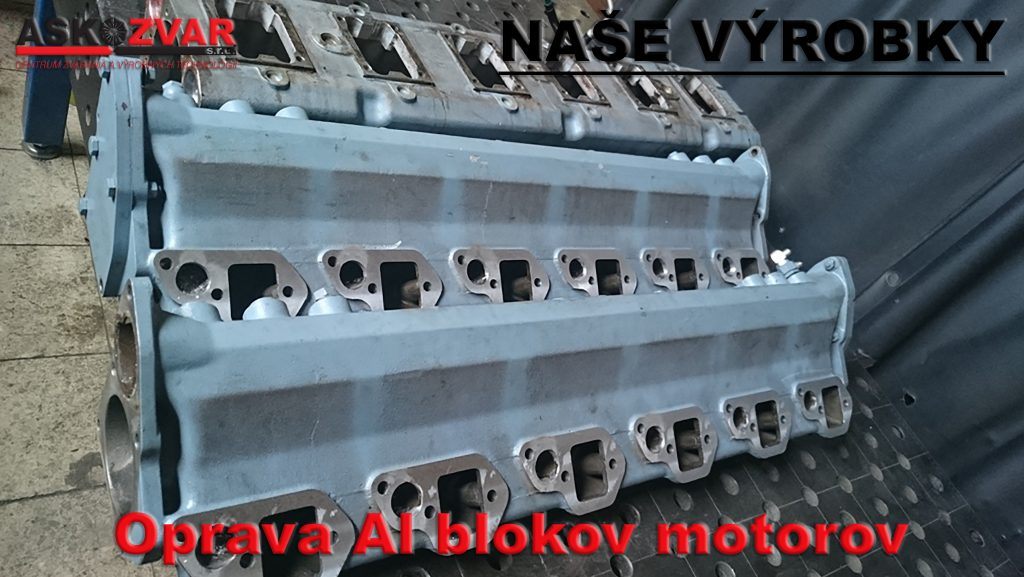 Oprava AL blokov motorov