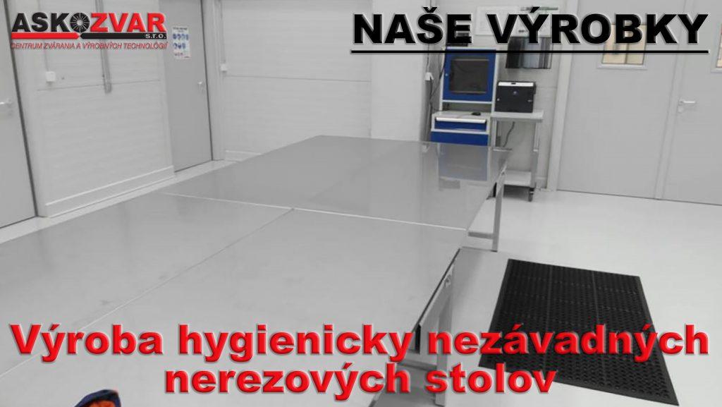 Výroba hydienicky nezávadných nerez stolov_15_17