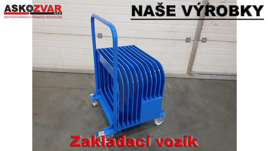 zakladací vozík
